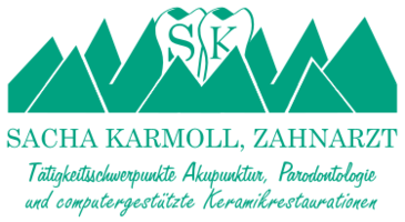 Zahnarzt Sacha Karmoll mit Tätigkeitsschwerpunkt Parodontologie